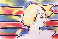 American Woman 1980 Limited Edition Print by Peter Max - 0