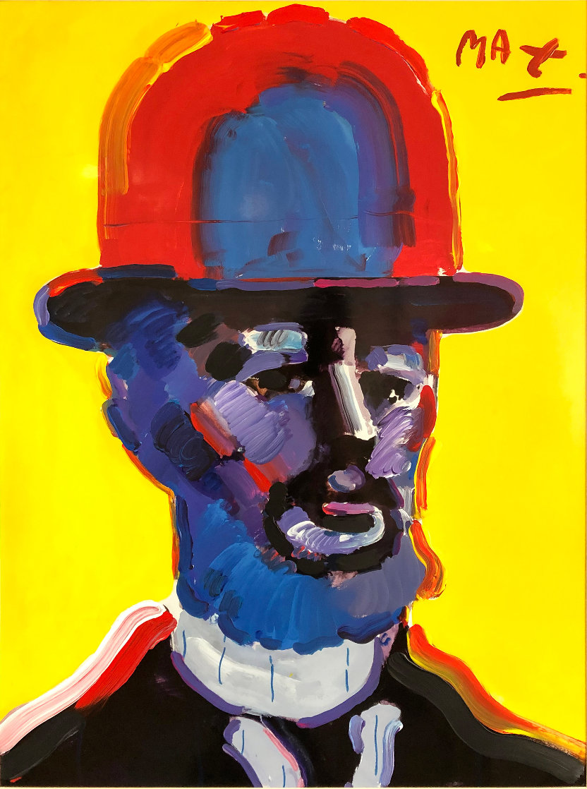 Toulouse Lautrec 2005 18x24 Works on Paper (not prints) by Peter Max