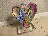Angel With Heart Acrylic Sculpture  Sculpture by Peter Max - 2
