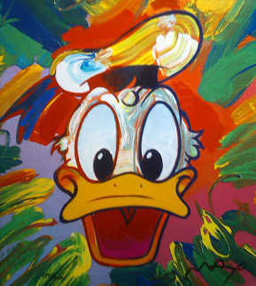 Donald Duck Limited Edition Print - Peter Max