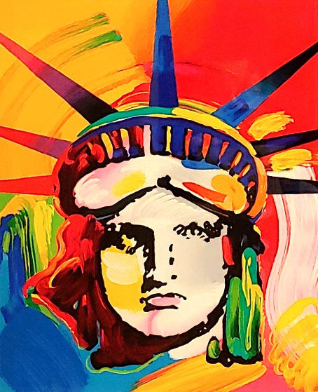 Liberty Head 2002 Ver. VIII 2013    Limited Edition Print by Peter Max