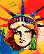 Liberty Head 2002 Ver. VIII 2013    Limited Edition Print by Peter Max - 0