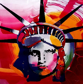 Liberty 2000 Limited Edition Print by Peter Max