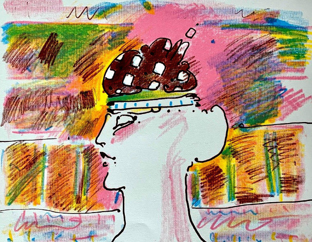 Untitled Lithograph AP Limited Edition Print by Peter Max