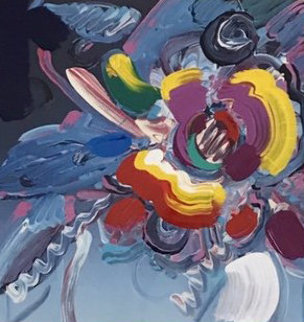 New York Flower Show 2001 Unique  34x38 Works on Paper (not prints) by Peter Max
