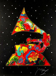 Grammy 1991 Huge 51x44 Limited Edition Print - Peter Max