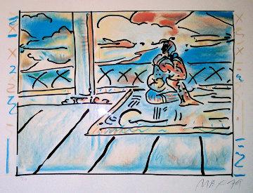 Tibetan Lady 1979 (Vintage) Limited Edition Print - Peter Max
