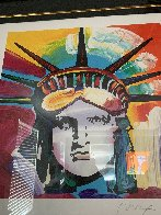 Liberty Head 2016 Limited Edition Print by Peter Max - 4