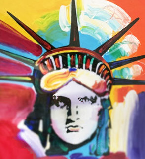 Liberty Head 2016 Limited Edition Print - Peter Max