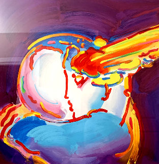 I Love the World Version XVII 2013 Limited Edition Print - Peter Max