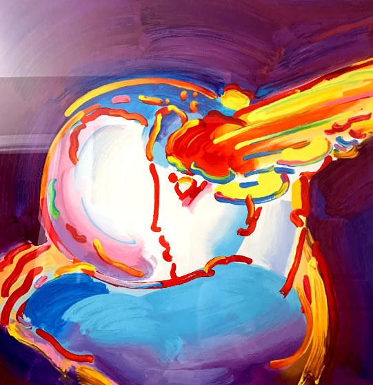 I Love the World Version XVII 2013 Limited Edition Print by Peter Max