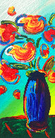 Vase of Flowers 2010 Limited Edition Print by Peter Max - 0