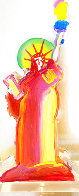 Statue of Liberty IX Acrylic Sculpture 2017 12 in Sculpture by Peter Max - 1