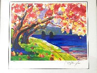 Cherry Blossom 2016 Limited Edition Print by Peter Max - 2