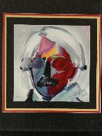 Andy with Mustache 1997 Limited Edition Print by Peter Max - 2