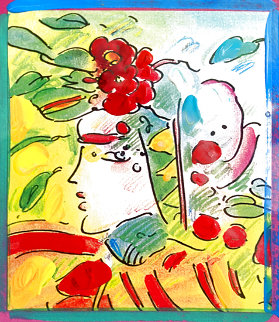 Profile Series Unique 2005 Ver I  22x20 Works on Paper (not prints) - Peter Max