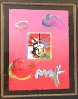 Liberty Head Unique ~ 2 UNIQUES 2009  Works on Paper (not prints) by Peter Max - 4