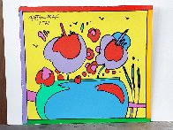 Atlantis Suite of 4 Vintage Mixed Media Prints Unique, 1971  Embellished Limited Edition Print by Peter Max - 3
