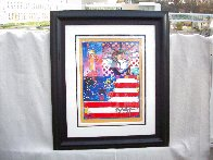 God Bless America II 2001 39x33 Works on Paper (not prints) by Peter Max - 2