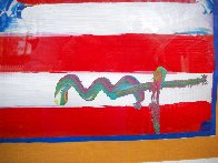 God Bless America II 2001 39x33 Works on Paper (not prints) by Peter Max - 5
