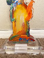 Statue of Liberty IX Acrylic Sculpture Unique 2017 12 in Sculpture by Peter Max - 2