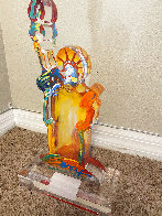 Statue of Liberty IX Acrylic Sculpture Unique 2017 12 in Sculpture by Peter Max - 4