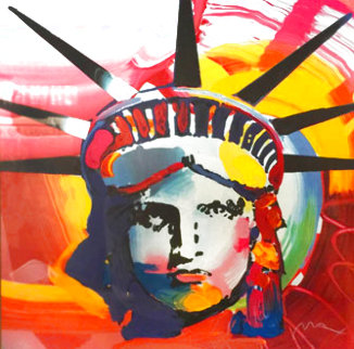 Liberty 1998 Limited Edition Print - Peter Max