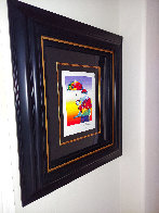 Umbrella Man 2015 Limited Edition Print by Peter Max - 2