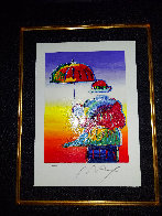 Umbrella Man 2015 Limited Edition Print by Peter Max - 1