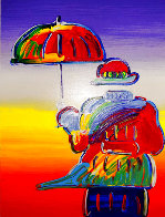 Umbrella Man 2015 Limited Edition Print by Peter Max - 0