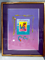 Love 1 Unique 2007 21x17 Works on Paper (not prints) by Peter Max - 1