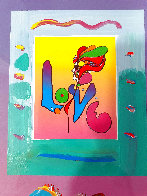 Love 1 Unique 2007 21x17 Works on Paper (not prints) by Peter Max - 3