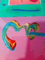 Love 1 Unique 2007 21x17 Works on Paper (not prints) by Peter Max - 5