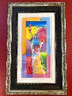 Statue of Liberty Unique 2015 37x20 Works on Paper (not prints) by Peter Max - 1