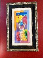 Statue of Liberty Unique 2015 37x20 Works on Paper (not prints) by Peter Max - 2