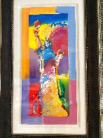 Statue of Liberty Unique 2015 37x20 Works on Paper (not prints) by Peter Max - 4