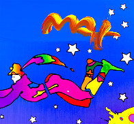 Heaven on Earth #12 2010 Unique Poster Works on Paper (not prints) by Peter Max - 1