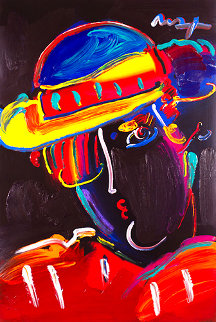 Zero Spectrum Heavily Unique Popster 2008 36x24   Works on Paper (not prints) - Peter Max