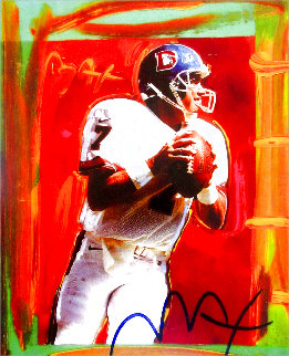 John Elway Limited Edition Print - Peter Max