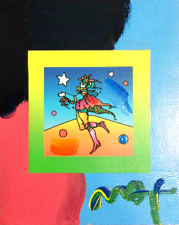 Star Catcher 2007 Works on Paper (not prints) - Peter Max