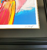 Angel With Heart 2012 Super Huge  Limited Edition Print by Peter Max - 3