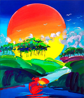 Without Borders 2014 Limited Edition Print - Peter Max