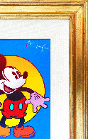 Mickey Mouse (Full Body) Unique 1996 21x17 Original Painting by Peter Max - 1
