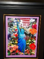 Land of the Free Home of the Brave Unique 2012 Works on Paper (not prints) by Peter Max - 1
