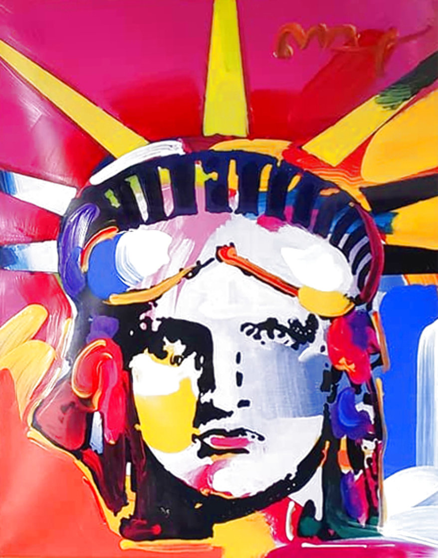Delta Unique 2004 42x36 Huge Works on Paper (not prints) by Peter Max
