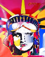 Delta Unique 2004 42x36 Huge Works on Paper (not prints) by Peter Max - 0