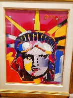 Delta Unique 2004 42x36 Huge Works on Paper (not prints) by Peter Max - 2