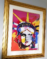 Delta Unique 2004 42x36 Huge Works on Paper (not prints) by Peter Max - 4