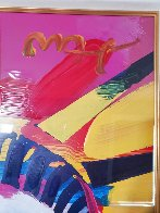 Delta Unique 2004 42x36 Huge Works on Paper (not prints) by Peter Max - 5