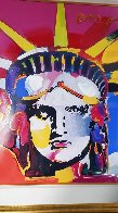 Delta Unique 2004 42x36 Huge Works on Paper (not prints) by Peter Max - 3